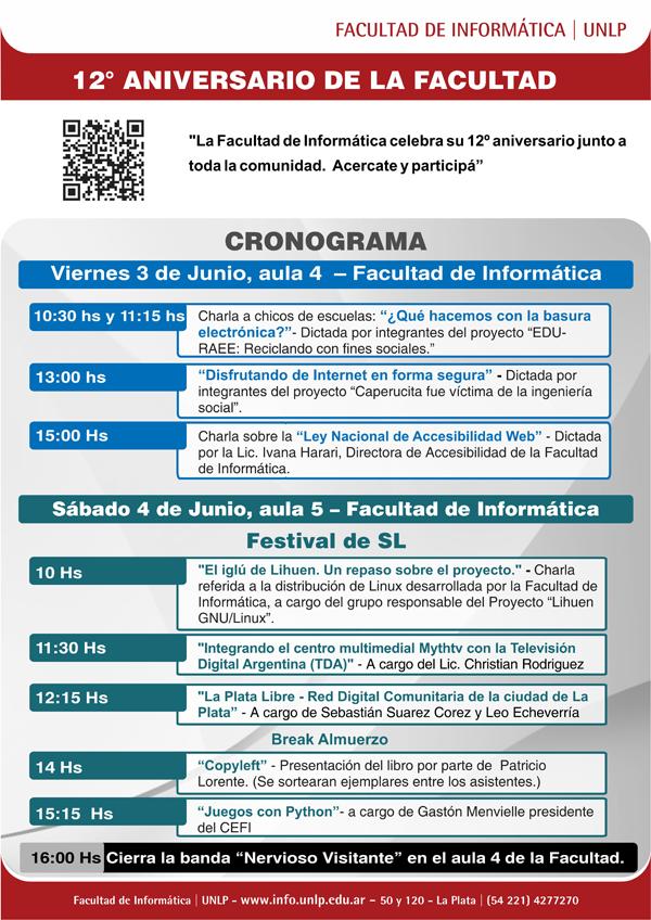 Aniversario FAcultad de Informática 2011