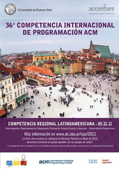 Competencias ACM 2011