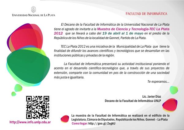 Invitación a TEC - La Plata