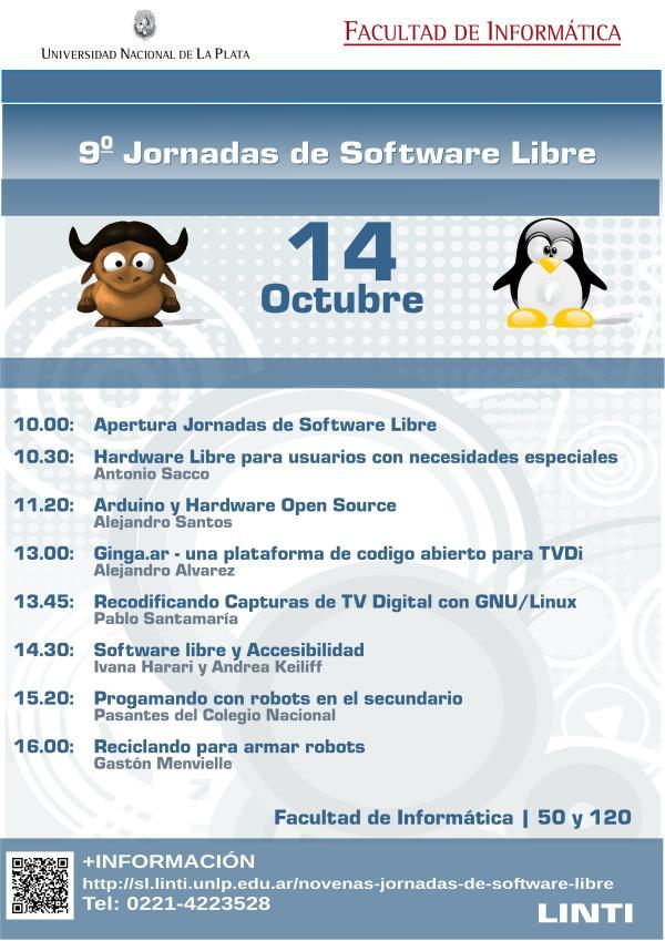 Jornadas del Software Libre en la Facultad
